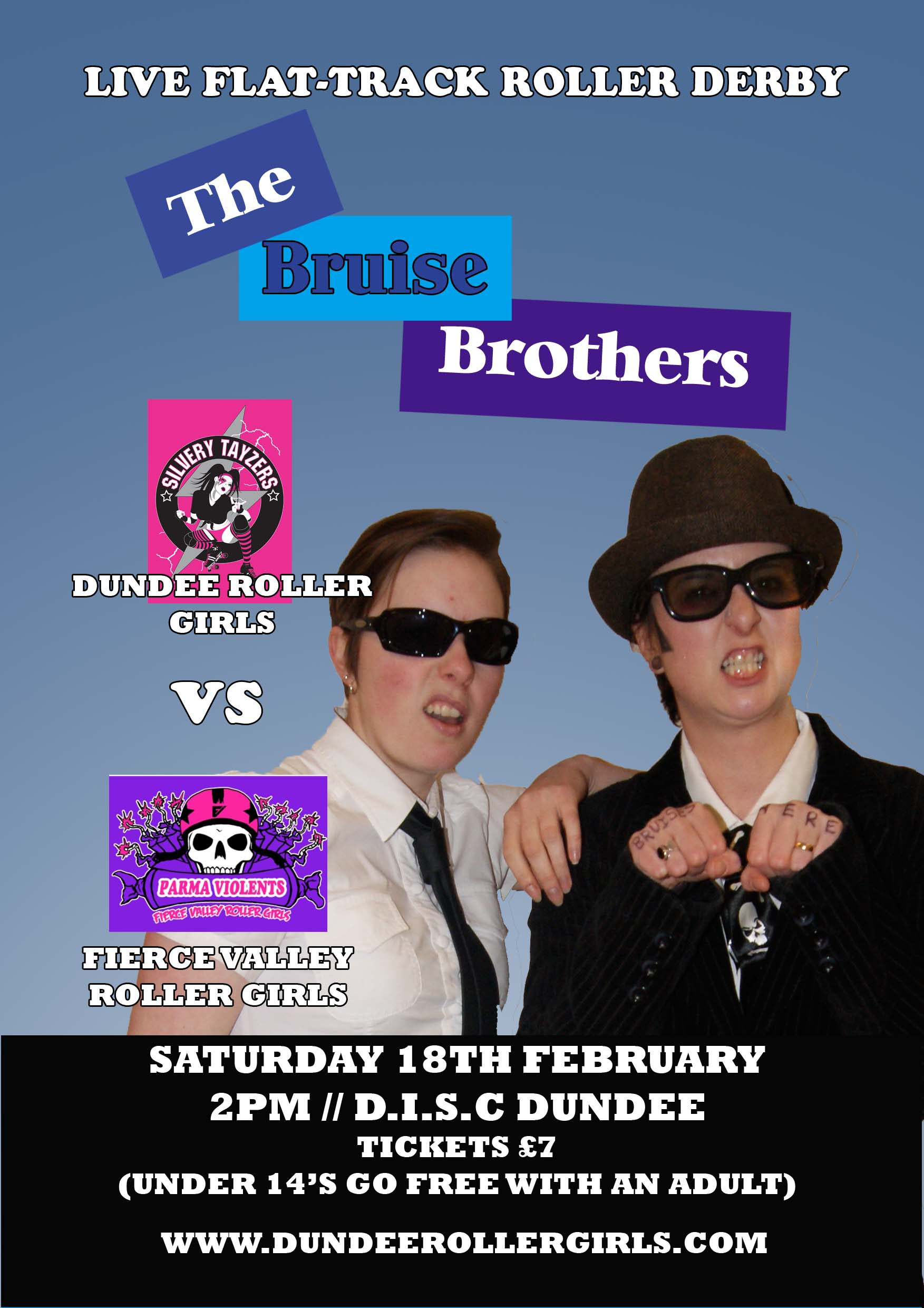 Bruise Brothers Flyer