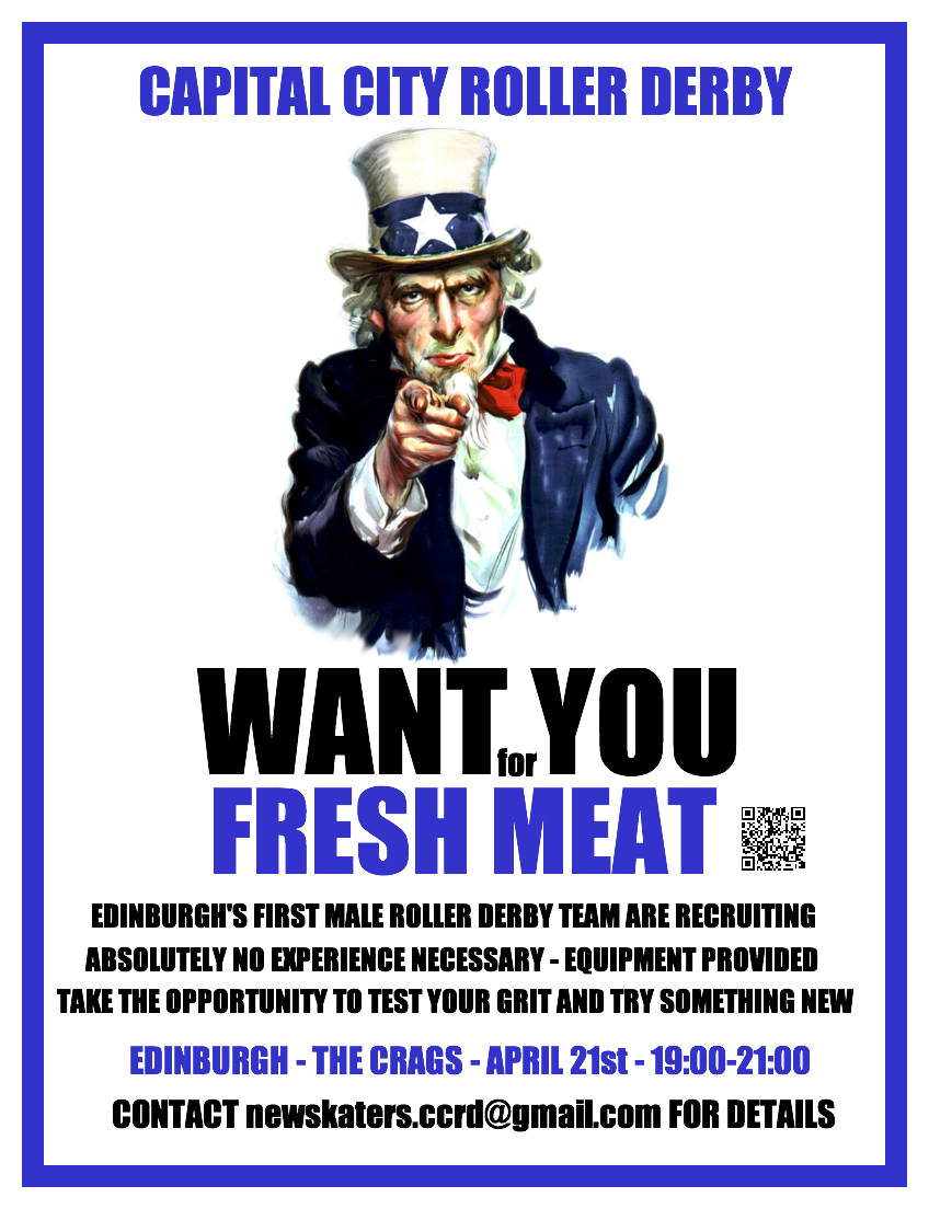 CCRD Fresh Meat Poster - image courtesy of Tequila Jammer
