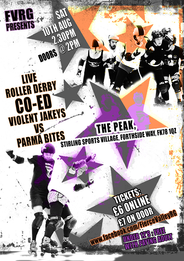 Co Ed Bout Poster - image courtesy of Chaos Faerie