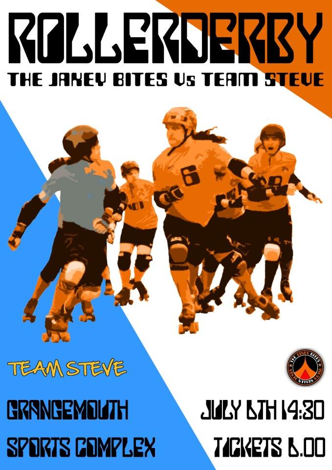 Jakey Bites vs Team Steve Poster
