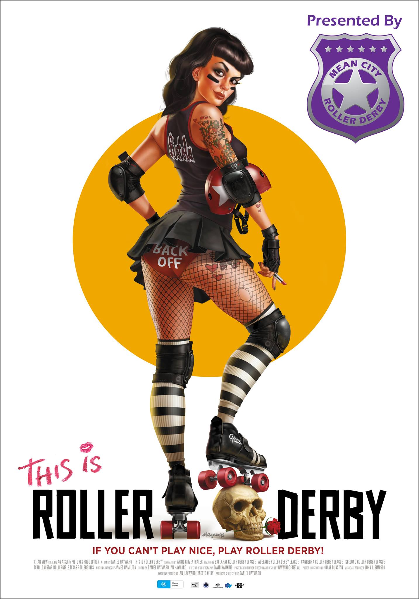 Image courtesy of Mean City Roller Derby