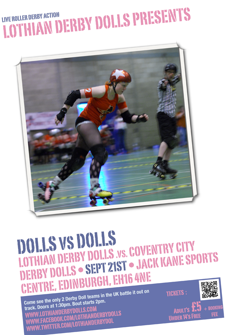 Lothian Derby Dolls - Dolls vs. Dolls