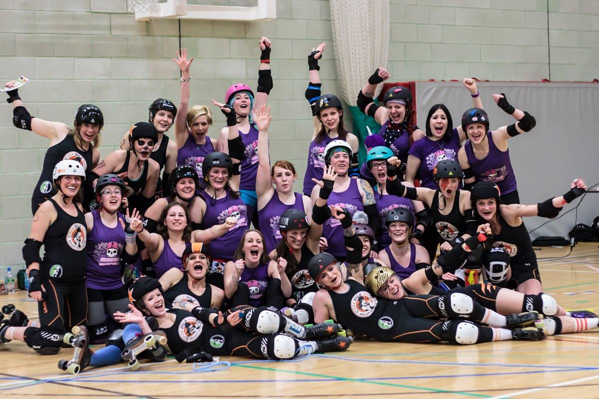 FVRG and Oslo Roller Derby All Stars-Photography by Laura MacDonald