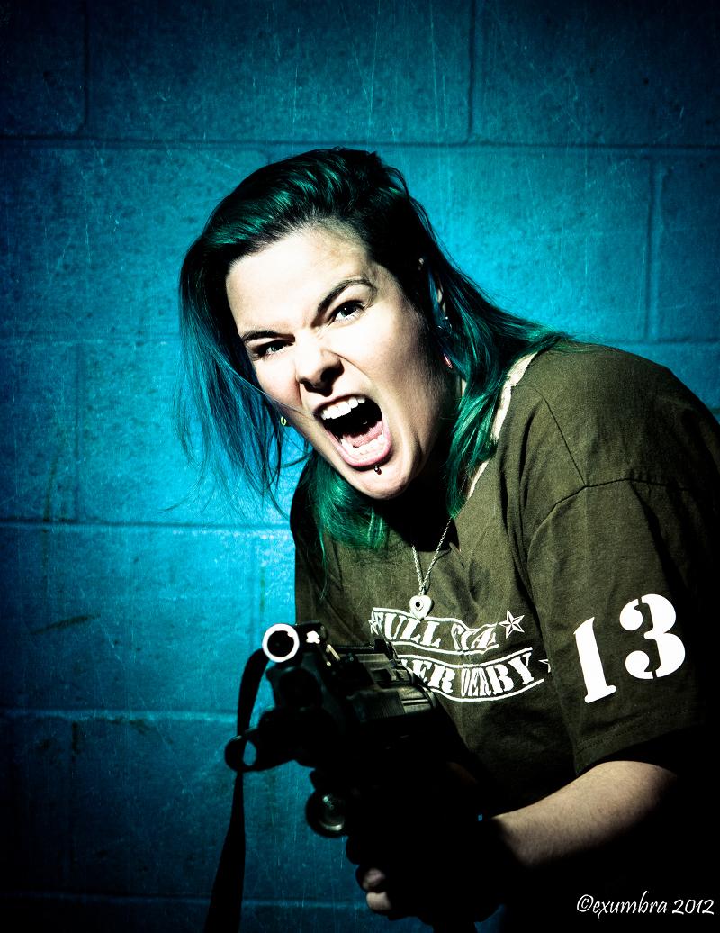 Moxie McMurder, Full Metal Editor of Lead Jammer Magazine
