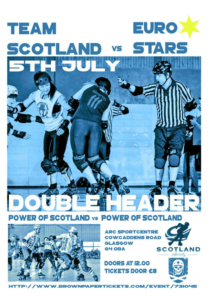 Team Scotland vs Euro Stars - first home bout of 2014 Team