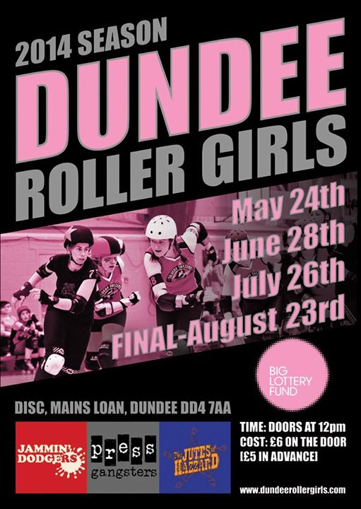 Image courtesy of Dundee Roller Girls
