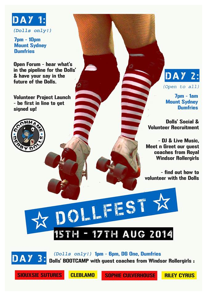Image courtesy of Doonhame Derby Dolls