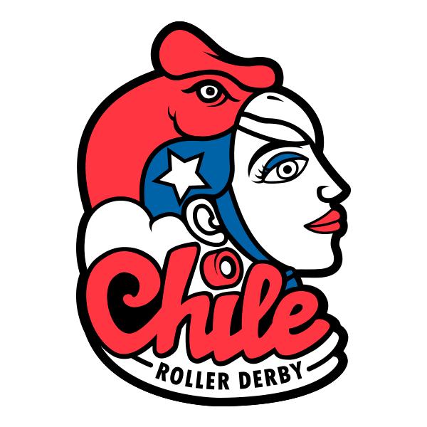 Team Chile Logo design by Tali and Chela Navaja