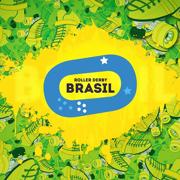 Team Brasil logo art and design: Fernanda Correa