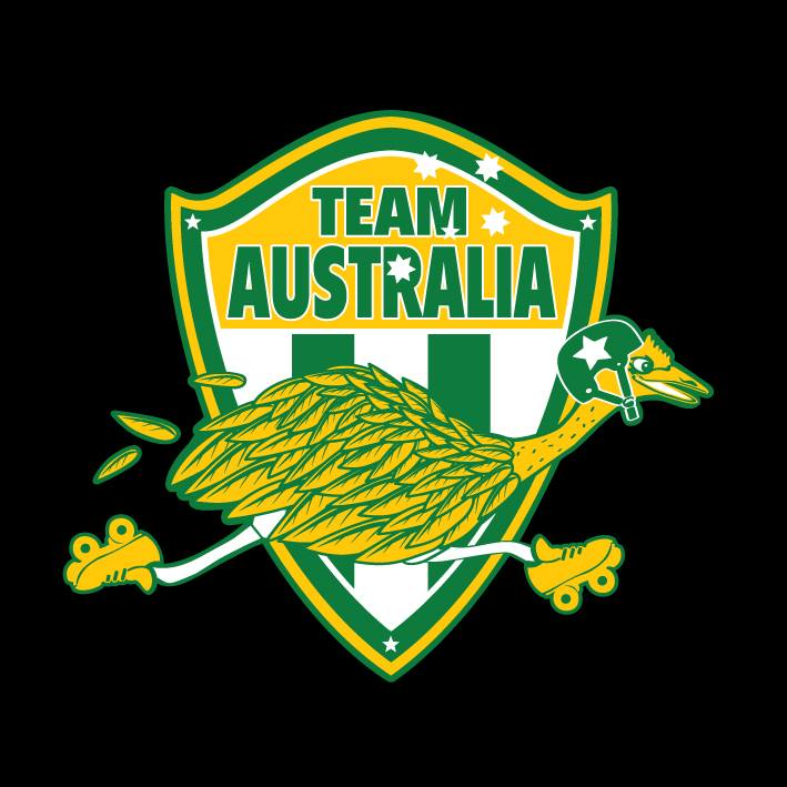 Team Australia logo (Ghost Points)