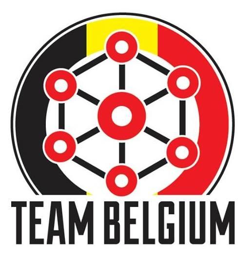 Team Belgium logo: Anouk Paepen
