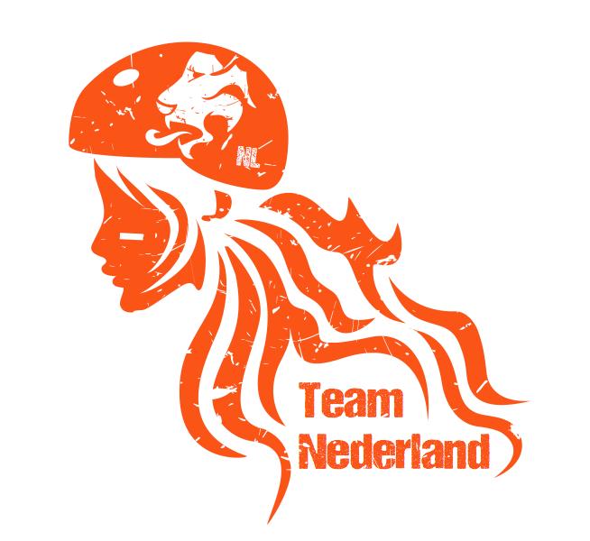 Team Netherlands logo: Camiel Zwart