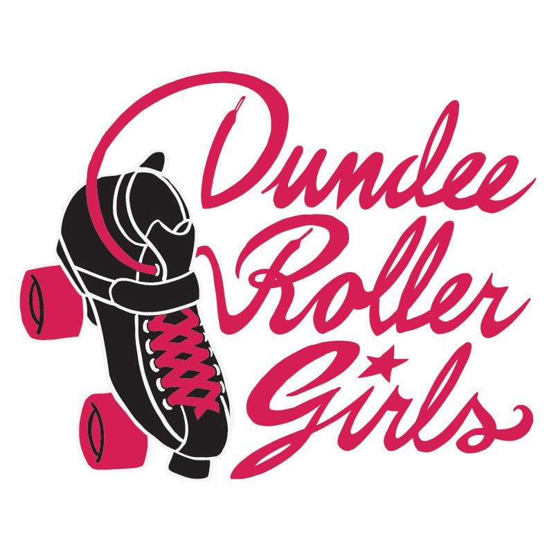 Dundee Roller Girls logo.