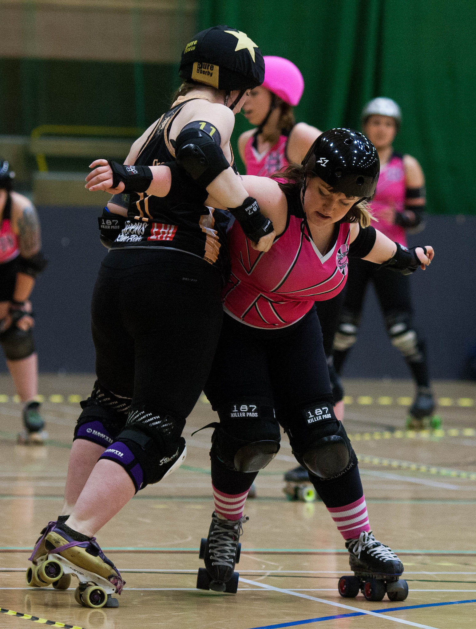 Tess v Newcastle Roller Girls (Photo: Dave Moore)